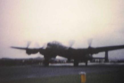 Cine Film of Lancaster Bomber KM?