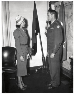 Claire Phillips received the Medal of Freedom