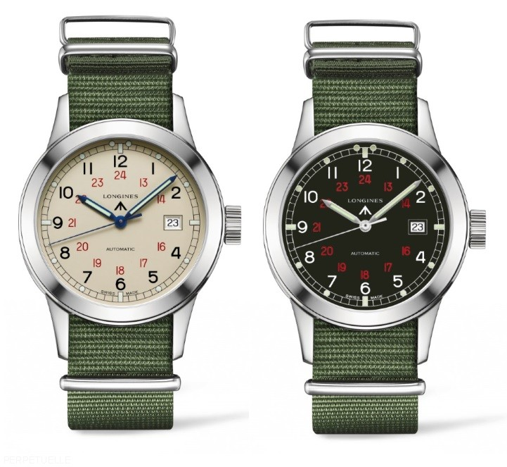 The new reissue Heritage Military COSD watch