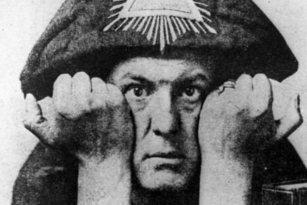 What does Occultist Aleister Crowley and Tanks have in Common?