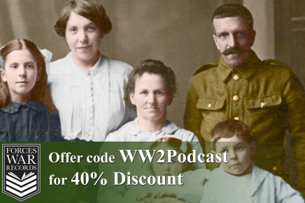 """Forces War Records – Offer code """"WW2Podcast"""" for 40% discount"""