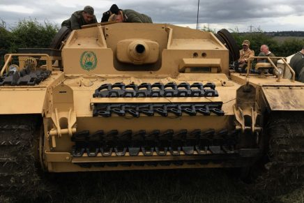 Stug III Ausf D Restoration at the Yorkshire Wartime Experience