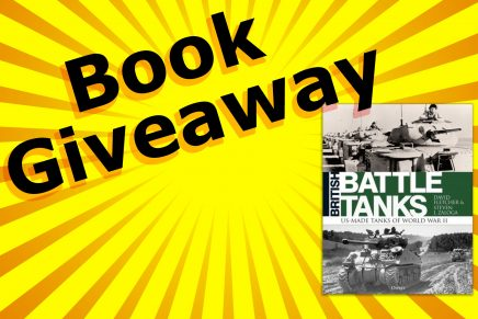 British Battle Tanks – Book Giveaway